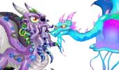 Dragon city แจกมังกรใหม่ Octopus Dragon และ Jellyfish Dragon ใน Pirate Quest